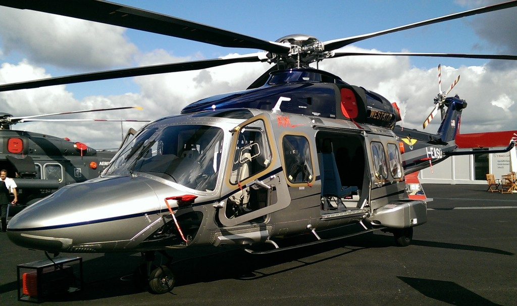 Weststar AW189 on show at Farnborough (Credit: Andy Evans)