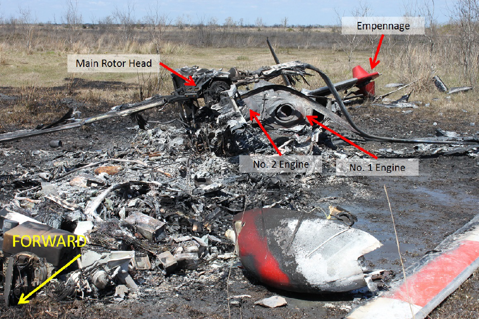 Accident Site (Credit: NTSB)