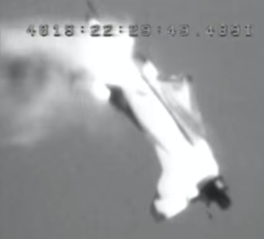 The Martin-Baker Mk 10 Ejection Sea Leaves the Aircraft (Credit: NASA)