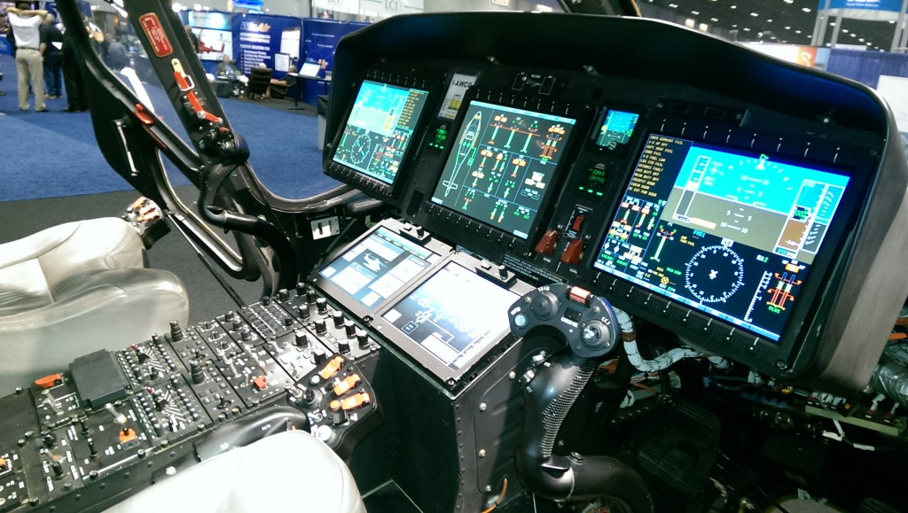 AW168 I-ACWG Cockpit (Credit: Andy Evans)