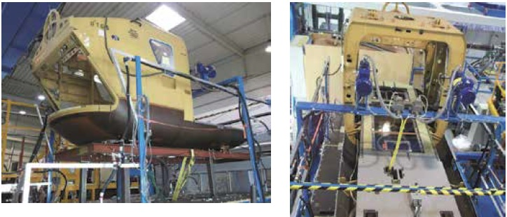 Airbus Helicopters EC135 Fuel System Test Rig (Credit: AAIB)