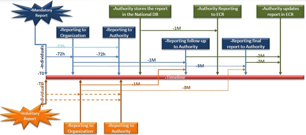 EASA Safety Reporting Timelines