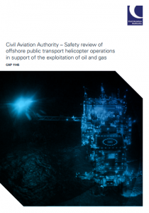 UK CAA CAP1145 report: Safety review of offshore public transport helicopter operations in support of the exploitation of oil and gas