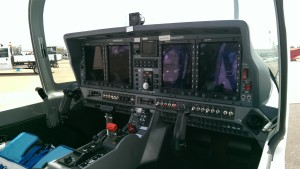 Grob 120TP Cockpit (Credit: Andy Evans)