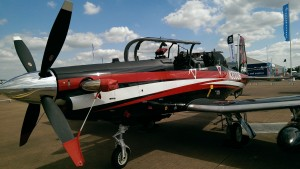 Beechcraft T-6C Texan II (Credit: Andy Evans)