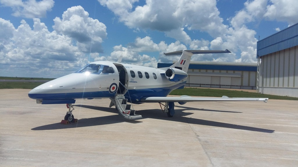 First Phenom 100 for UKMFTS (Credit: Affinity)