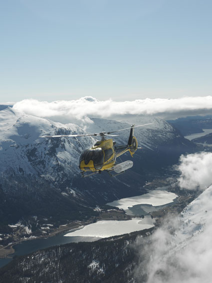 EC130B4 Operating in Norway (Credit: Fjord Helikopter)
