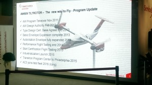 AW609 Update