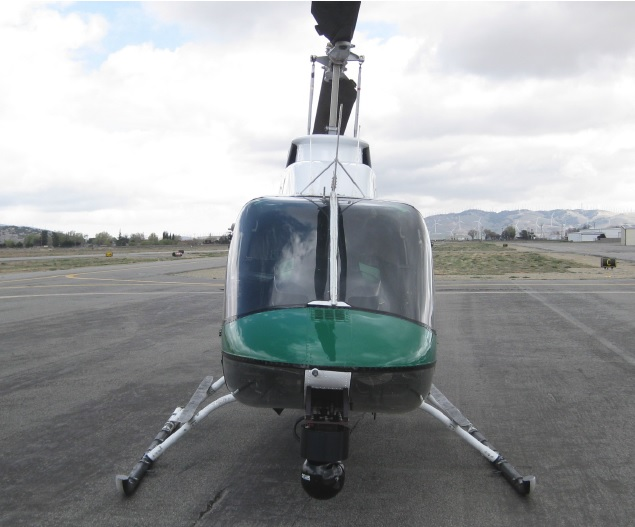 KCSO OH-58A N497E After the Impact (Credit: NTSB)