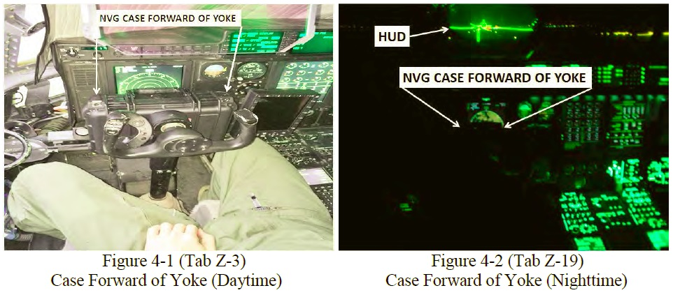 Position of the NVG Case (Credit: USAF)