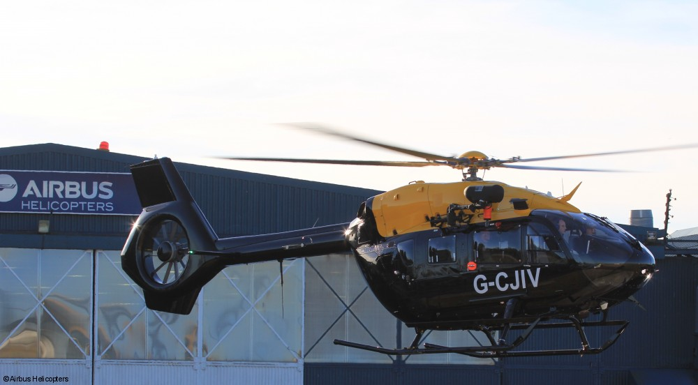 An H145 Jupiter with External Hoist Installed (Credit: Airbus Helicopters)