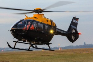 The First H135 Juno Landing at Airbus Helicopters UK (Credit: Airbus Helicopters)