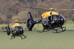 First H145 Jupiter and H135 Juno delivered to RAF Shawbury (Credit: RAF Shawbury)