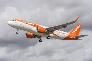 EasyJet's 250th Airbus A320 on a Pre-Delivery Test Flight (Credit: EasyJet)