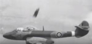 Newsreel Footage of an Ejection From a MB Trials Meteor