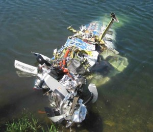 Wreckage of Piper PA-46-350P Malibu Mirage N962DA(Credit: KXLY)