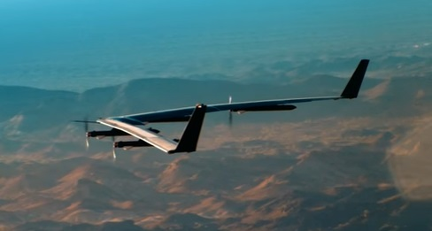 Facebook Aquila 1A In Flight (Credit: Facebook)
