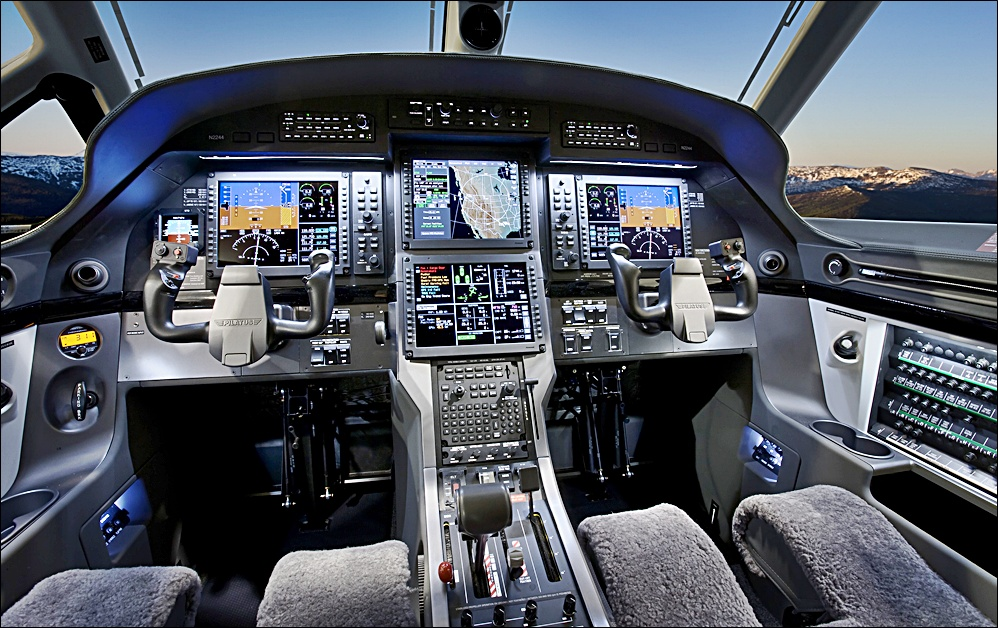 Pilatus PC-12NG Cockpit (Credit: Pilatus)