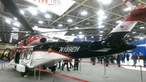 AW189 of ERA, the Only Oil & Gas Configured Helicopter on Show