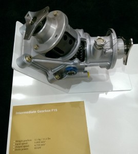 ZF Intermediate Gear Box (IGB) of the Guimbal Cabri G2