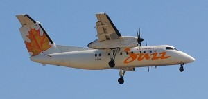 Jazz Aviation Dash 8 (Credit Unknown)