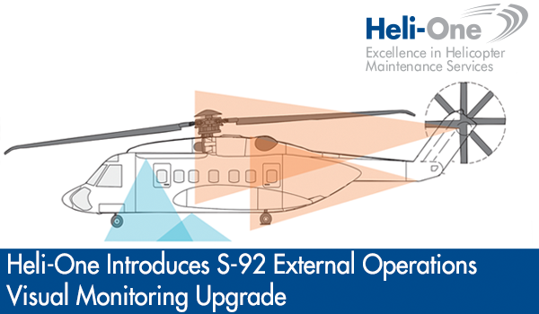 Services Supported Helicopters News & Media Contact Us Heli-One Introduces External Operations Visual Monitoring Upgrade For Sikorsky S-92