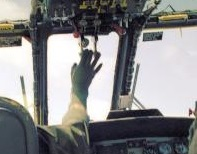 Sea King Throttle Levers (Sock Photo Credit: Unknown)