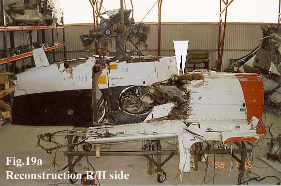 AS332L1 LN-OPG Engine Bay Disc Burst Damage (AAIB/N 2001: Figure 19a)