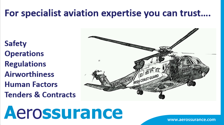 Aerossurance SAR helicopter consultancy