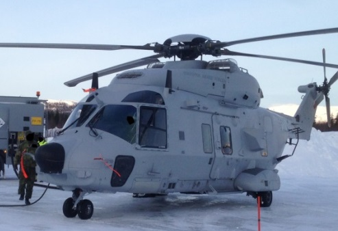 Swedish Air Force NH90 HKP14D helicopter (Credit: Serish Armed Forces via SHK)