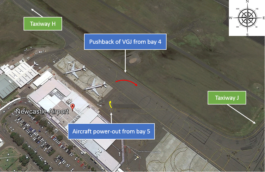 The Scene of the Incident (Credit: ATSB)