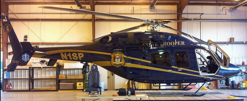 Delaware State Police Bell 429 N1SP (Credit: DSP)