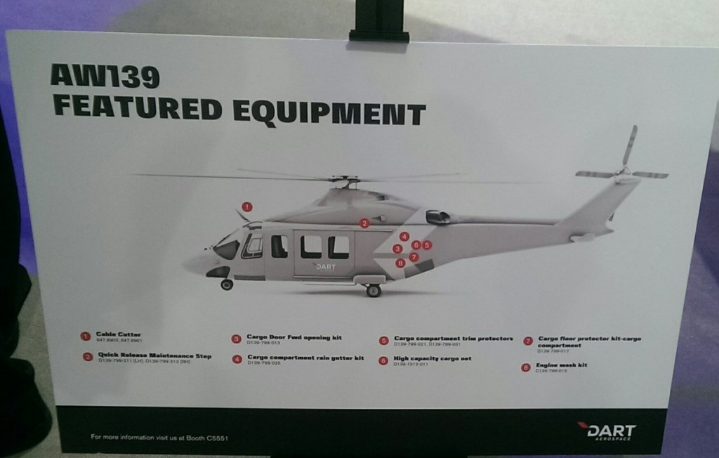 AW139 MUH Equipment Fit
