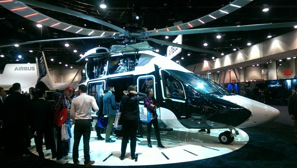 Airbus H160 at Heli-Expo 2018