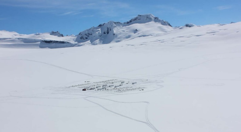 Dog Camp, Denver Glacier, AK (credit: NTSB)