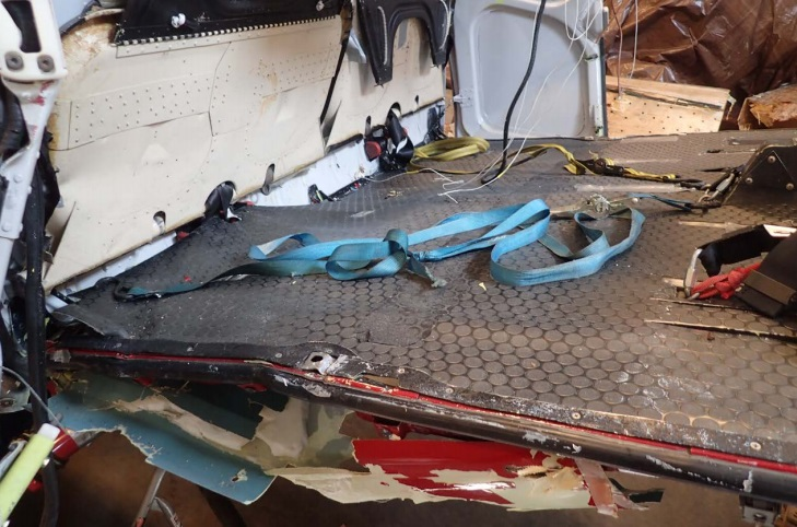 Cargo Straps from Temsco Airbus AS350B2 N94TH, Denver Glacier, AK (Credit: NTSB)