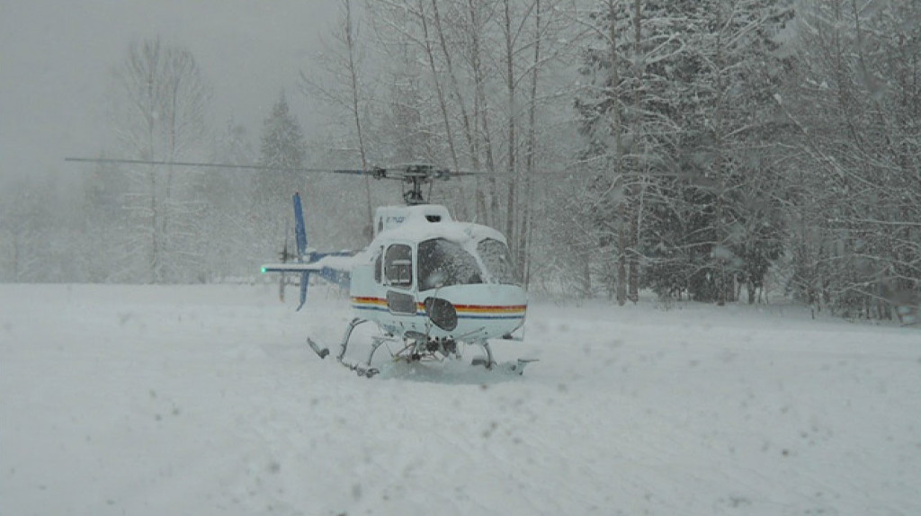 RCMP AS350B3 C-FMPG Rotors Running Just Prior to TakeOff (Credit: via TSB)