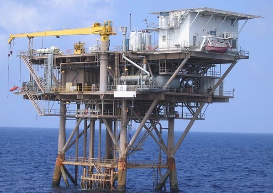 A GOM Offshore Installation (Credit: NOAA)