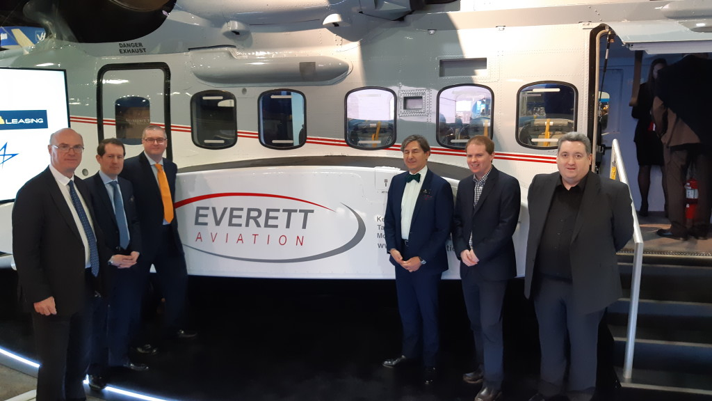 After Signing the Lease for S-92A 5Y-EXZ at HeliExpo 2019 (Credit Aerossurance)