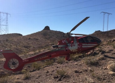 Papillon Grand Canyon Helicopters Airbus Helicopters  EC130B4 N151GC  (Credit via NTSB)