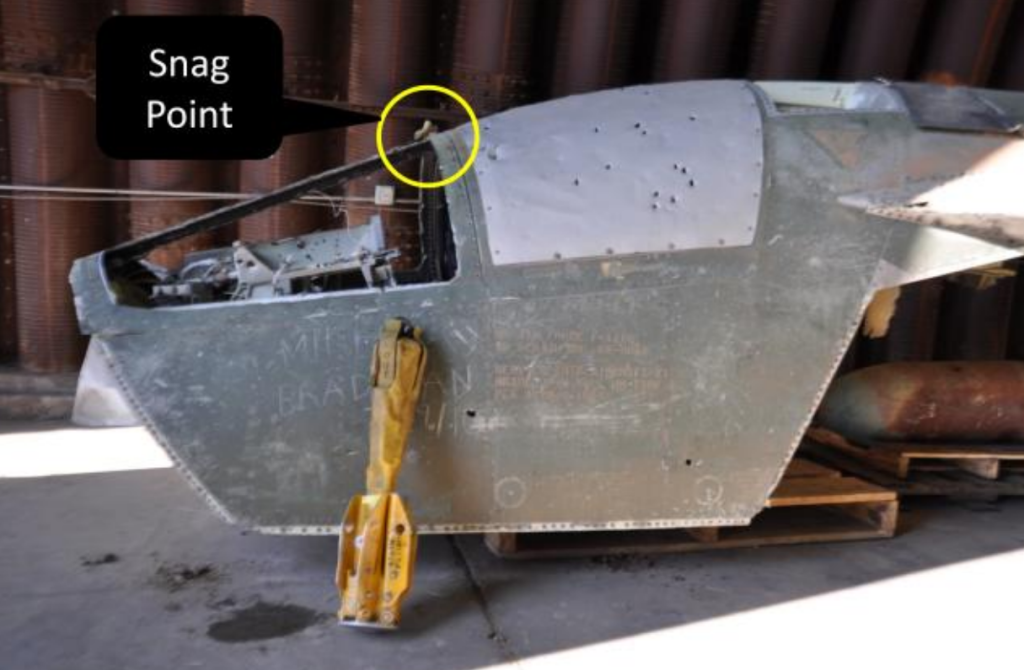 F-111 Escape Capsule and Forest Penetrator Recovered (Credit: USAF)