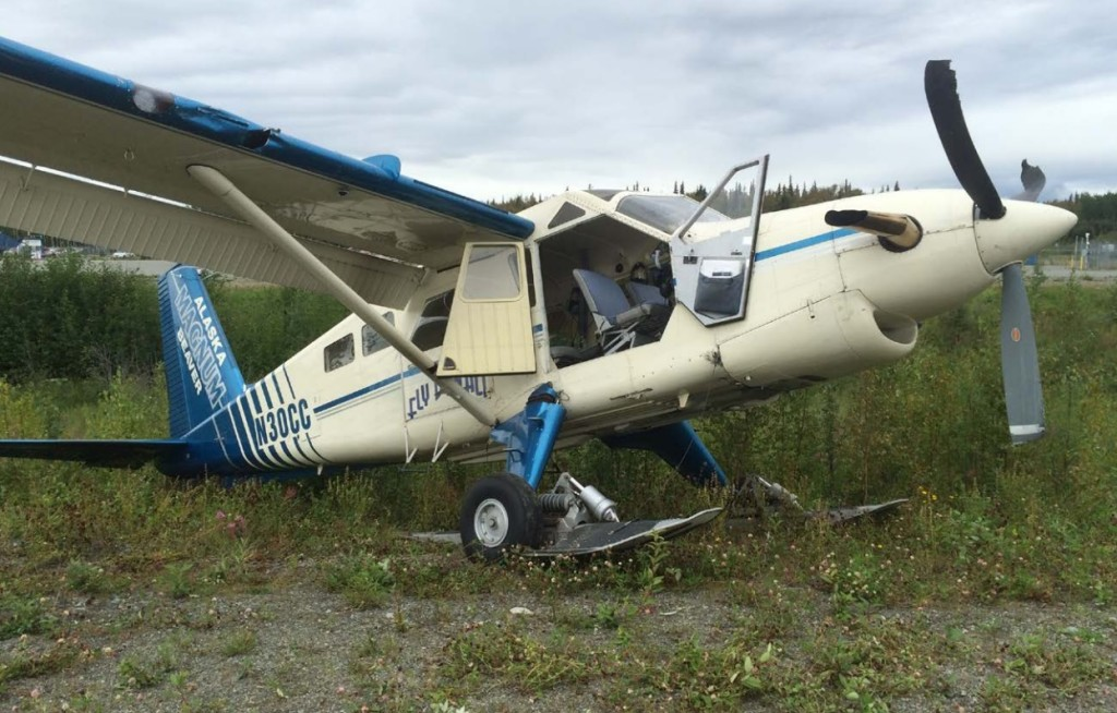DHC-2T Beaver N30CC   after a Mid Air Collision (Credit: NTSB)