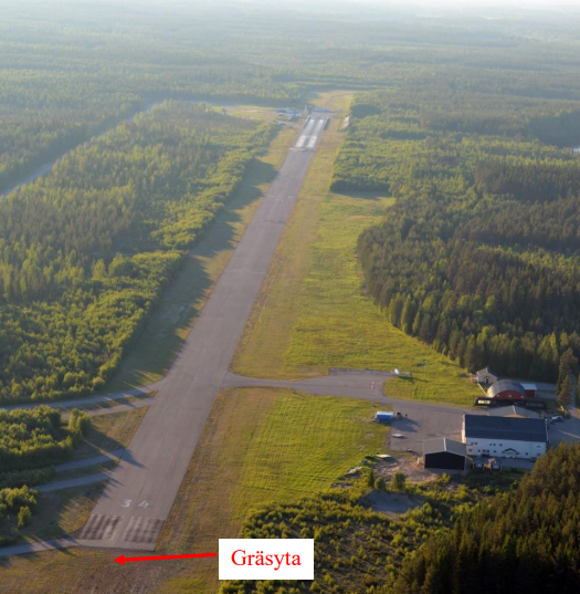 Piteå Airfield (Credit  Piteå Flying Club via  SHK)
