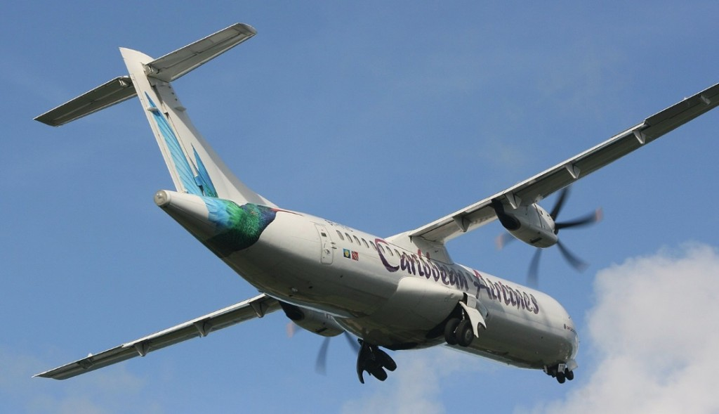 Caribbean Airlines ATR 72-212A 9Y-TTC (Credit: Ian Gratton CC BY 2.0)