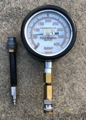 Manual Pressure Gauge (Credit: TSIB)