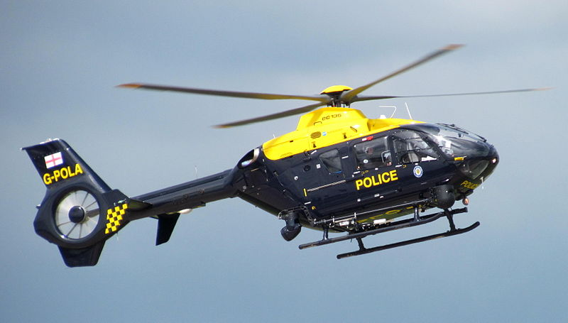NPAS Airbus EC135P2+ G-POLA in 2012 (Credit: Ozzy Delaney CC BY 2.0)