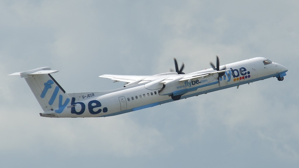 Flybe DHC Dash 8 Q400 G-JECR (Credit: Aero Icarus CC BY-SA 2.0)