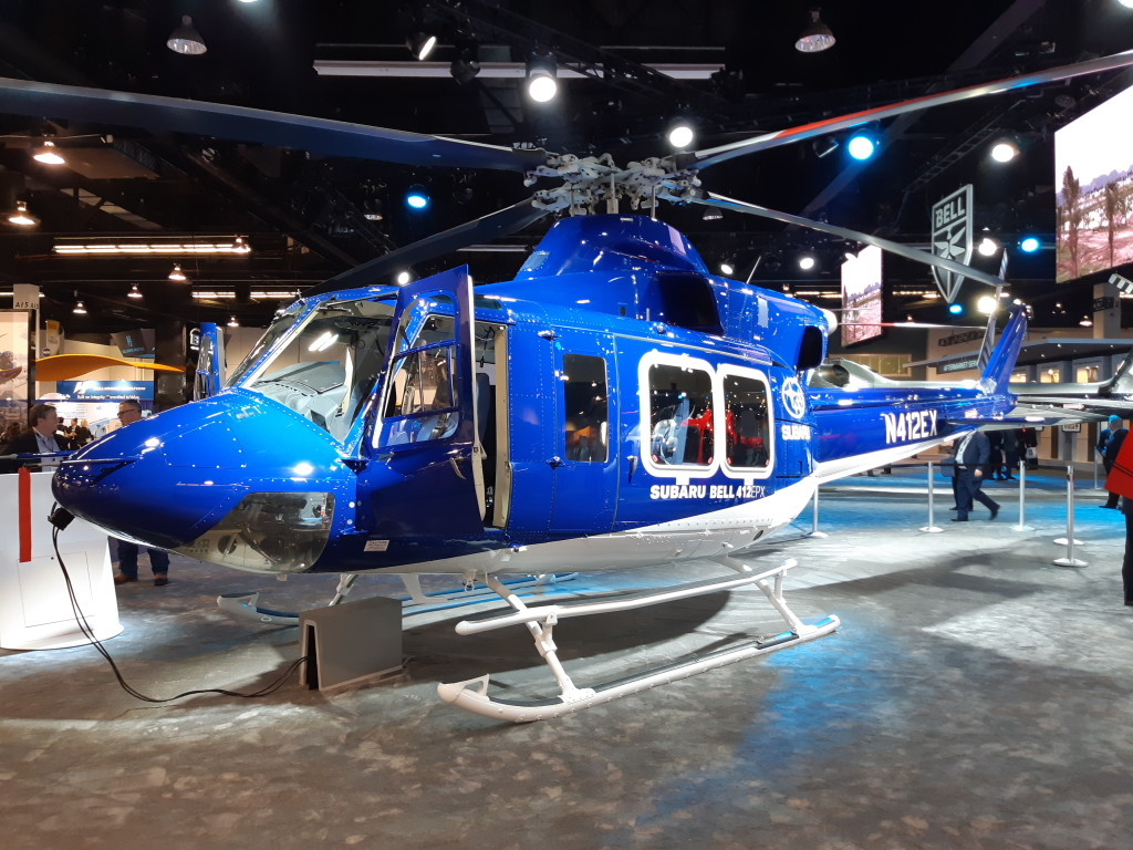 Subaru now License  Building Bell 412EXPs for the UH-X program to replace Japan Ground Self Defence Force's (JGSDF) UH-1J Fleet
