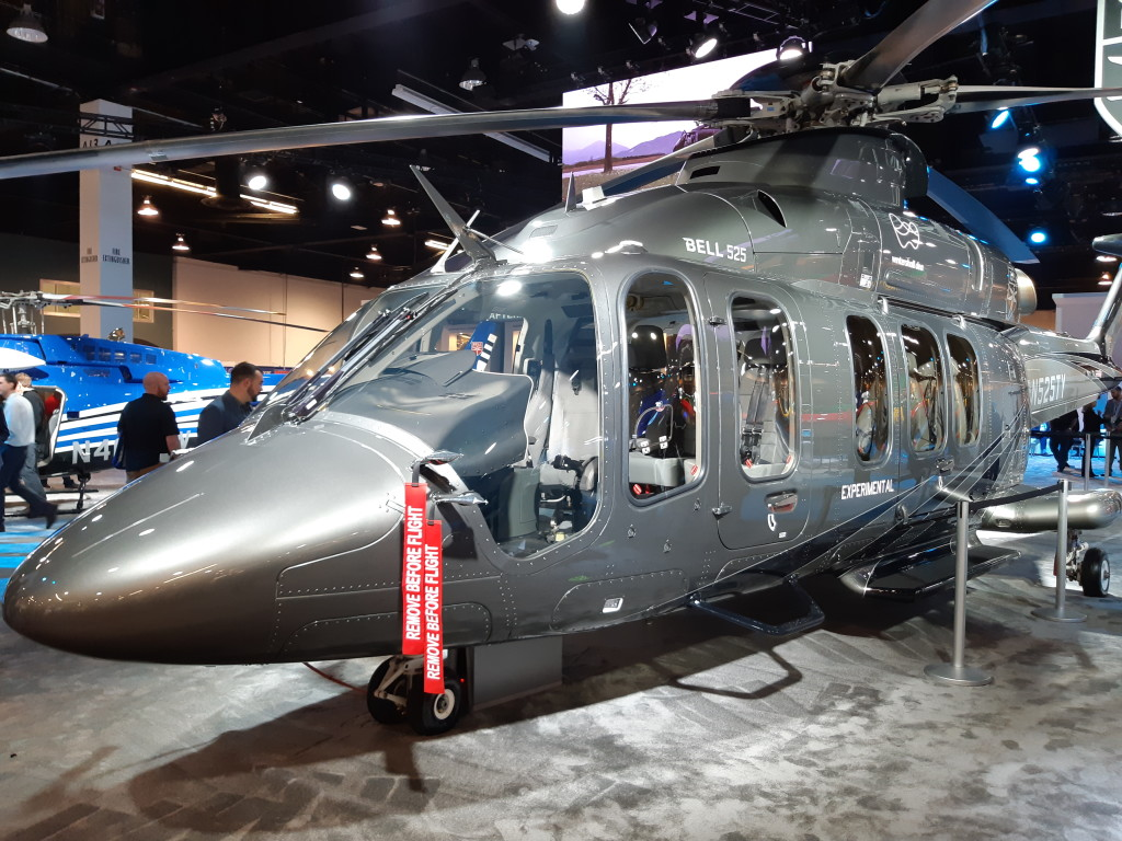 First Actual Bell 525 to Appear at HeliExpo