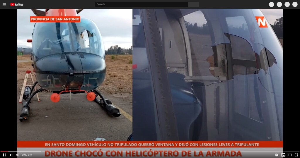 chile navy heli drone